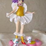 Creamy figure